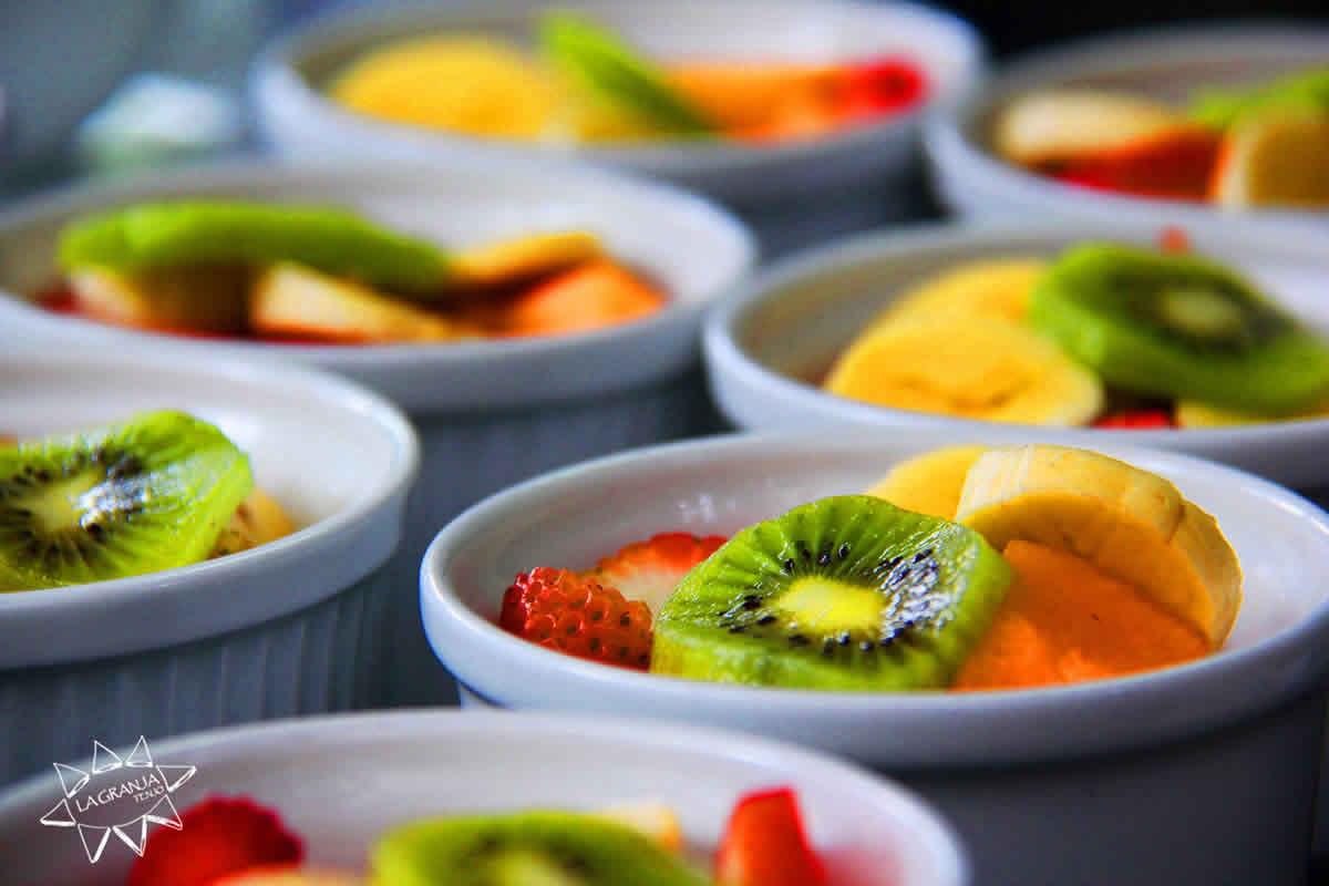 Frutas restaurante La Granja Tenjo